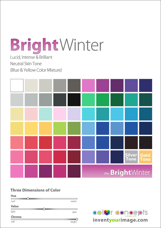women bright winter