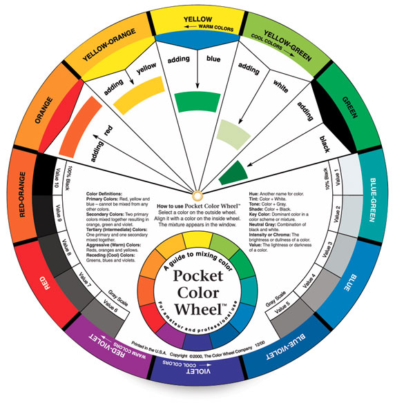 Color Wheel Pocket Version