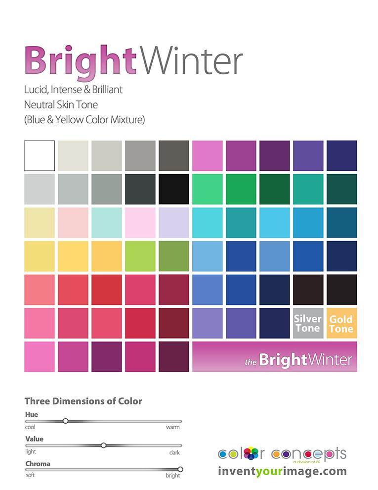 women bright winter