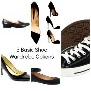 5 Basic Shoe Wardrobe Options