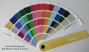 BSp Invent Your Image Womens Book of Colors