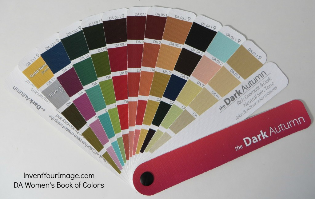 Dark Autumn Book Of Colors Invent Your Image