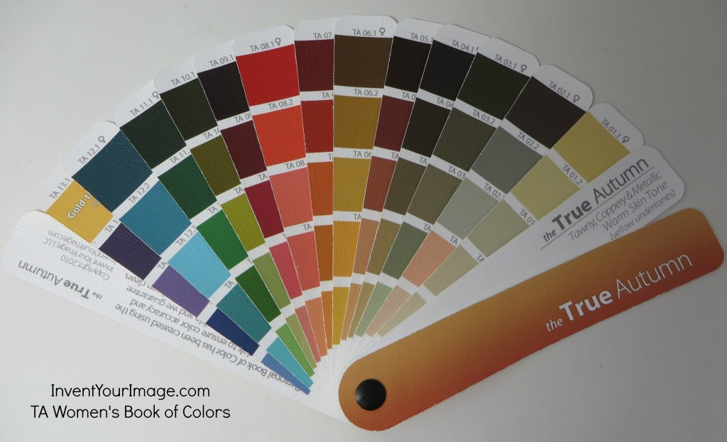 TA Invent YOur Image Womens Book of Colors