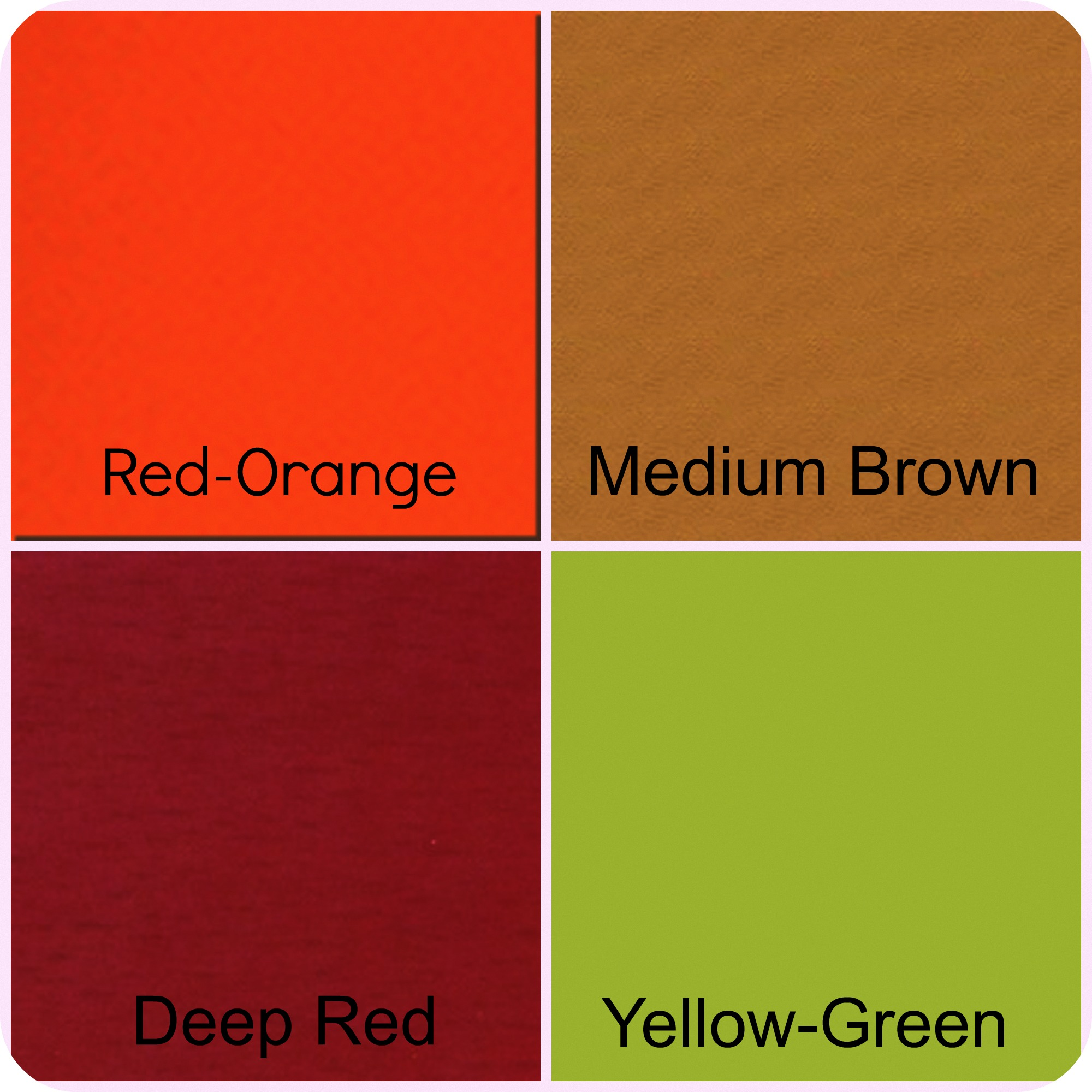 Re Energize With Red Play Up Your Red With. The Second Warm Color Is ORANGE.