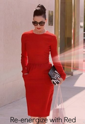 Re-energize with red