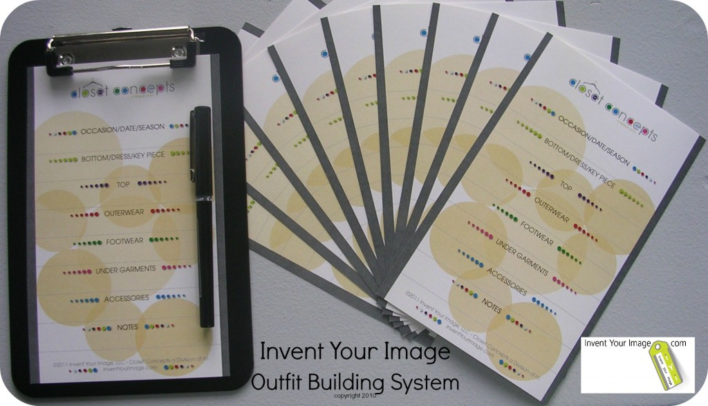 Invent Your Image Outfit Building Tools copyright 2010