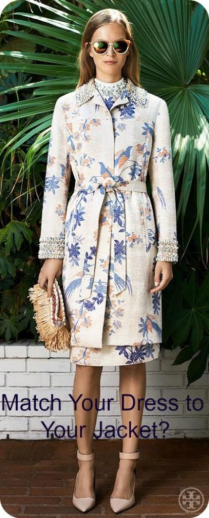 Matching dress and Jacket