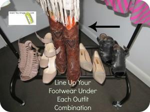 Footwear for Wadrobe Planning