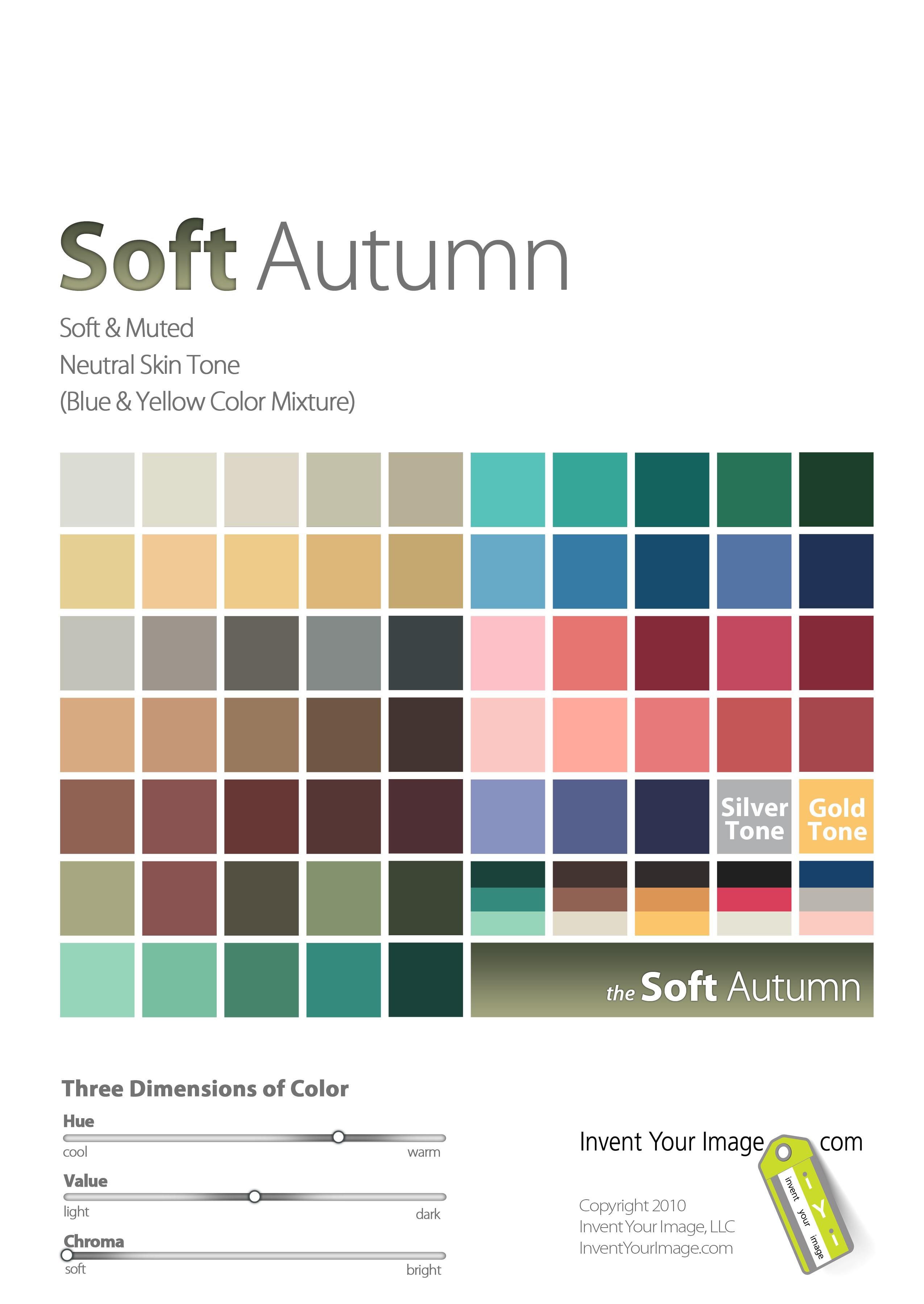 Autumn Color Palette Color Me Beautiful