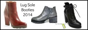 Lug Sole Booties 2014
