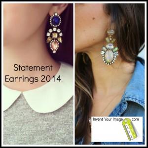 Statement Earrings 2014