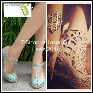TStrap Laser Cut Heels 2014