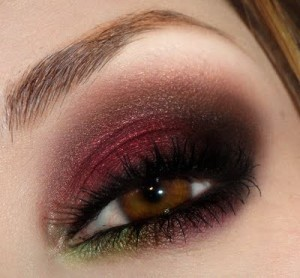 Marsala Eye shadow