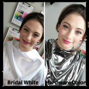 AM Bridal White and Hardware Color