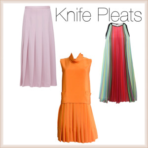 Knife Pleats